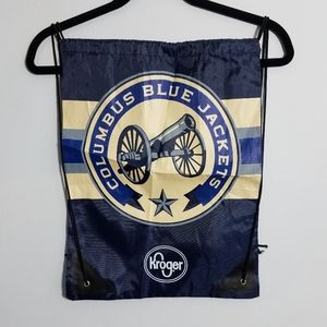 NEW Columbus Blue Jackets drawstring backpack